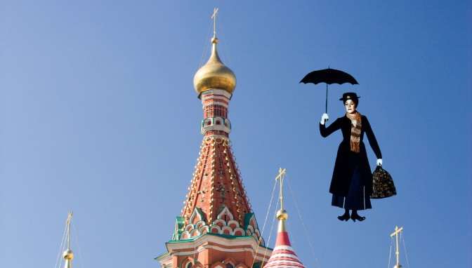 Mary Poppins in Russia