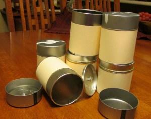 Tins for Blog
