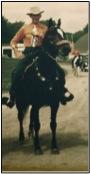 On_horseback