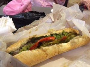 Sandwich from Reading Market