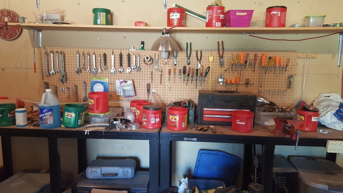 Cleaning the Tool Bench