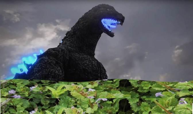 Gardening with Godzilla!
