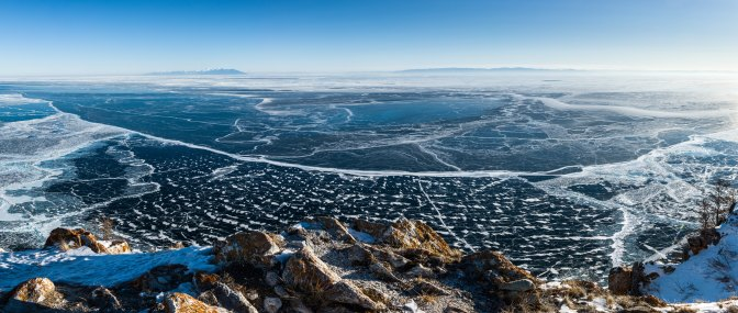 Beautiful Lake Baikal